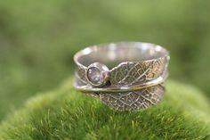 Hey, I found this really awesome Etsy listing at http://www.etsy.com/listing/129598905/sage-leaf-ring-sterling-silver-cubic