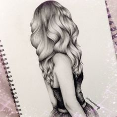hair sketch/ drawing Mehr