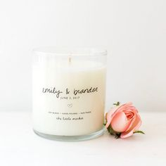 Have you seen our totally custom candles? We can do anything you would like! They are perfect for celebrating special occasions. :@marisavitalephoto  #Regram via @thelittlemarket