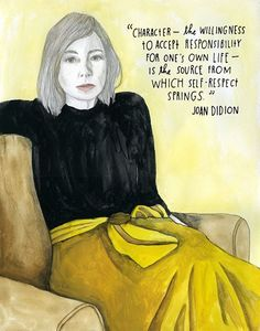 joan didion. quote.