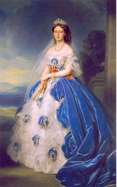 Olga Queen of Wuttemberg 1865 by Winterhalter