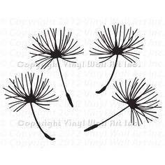 Dandelion Seeds Vinyl Wall Art Decal