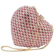 Prom Clutch Bags, Bridal Clutch Bag, Leather Clutch Bags, Beaded Bags, Heart Shapes, Processing Time, Crystals, Unique Bags, Bridal Lehenga