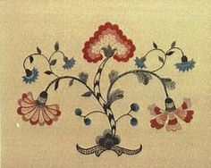 colonial embroidery