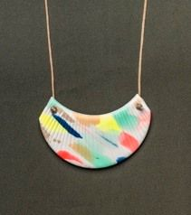 Handmade necklace by Mabel