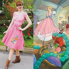 Cinderelly  Cinderelly  Night and day it's Cinderelly!  Gus Gus and this scene are forever my favorite #wishesandwardrobes #disneystyle…
