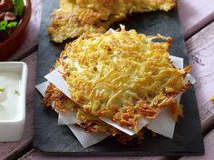 Cette recette de galette de pommes de terre s'inspire de la recette traditionnelle suisse des röstis, une préparation à base de…