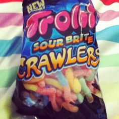 Sour gummy worms: Amazing.