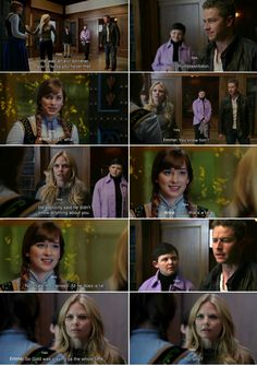 """""""You know him? He explicitly said he didn't know anything about you."""" Emma, """" Well, that's a lie. Not that I'm surprised. All he does is lie."""" Anna, """"So Gold was playing us the whole time. But why?"""" Emma, David, Mary Margaret and Henry - 4 * 11 """"Heroes and Villains"""""""