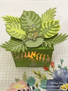 SAB 2019 - So Hoppy Together Tealight Holder - Wright Crafts 3d Projects, Projects To Try, Crafts To Do, Paper Crafts, Science Classroom Decorations, Tea Light Holder, Stamping Up, Kids Cards, Stampin Up Cards
