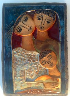 Reserved Ruth Faktor Mid Century Israeli by GillianBryceFineArt