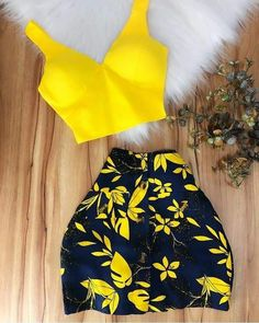 2019 Homecoming Dresses yellow short party dress in 2020 Lila Outfits, Teenager Outfits, Cute Summer Outfits, Teen Fashion Outfits, Cute Casual Outfits, Sexy Outfits, Stylish Outfits, Spring Outfits, Girl Fashion