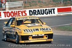 88710 - McLeod / Keogh Holden Commodore VL - Bathurst 1988 - AUTOPICS Mount Panorama, Holden Commodore, Yellow Pages, Touring, Group, Car, Automobile, Cars, Autos