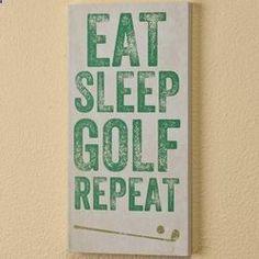 We all live golf