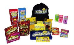 Win Sweet and Sour Candy Lemonhead Prize Pack Giveaway