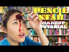 DIY PENCIL WOUND PROSTHETIC - YouTube