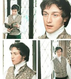 James McAvoy in Becoming Jane :) Becoming Jane, James Mcavoy, Jane Eyre, Jane Austen Movies, Forever Book, Scottish Actors, Recent Movies, Handsome Actors, Romantic Movies