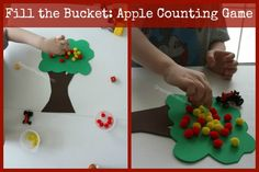 Apple Math counting game and other Otis the Tractor book from CrayonFreckles.com