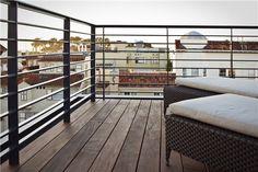 Rooftop Railing  Sustainable Rooftop  Studio Peek Ancona  San Francisco, CA
