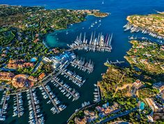 Porto Cervo, Sardinia, Italy – Host of Maxi Yacht Rolex Cup and Europe's Most Expensive Luxury Real Estate Elba, Family Boats, Sailing Holidays, Yacht Broker, Capri Italy, Used Boats, Europe Destinations, Yacht Club, Luxury Yachts