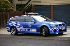 Patrulla de Policía de Carreteras del estado de Queensland, en Australia