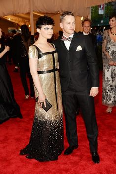 Pin for Later: Relive Ginnifer Goodwin and Josh Dallas's Real-Life Fairy-Tale Romance They coordinate well, especially at the Met Gala.