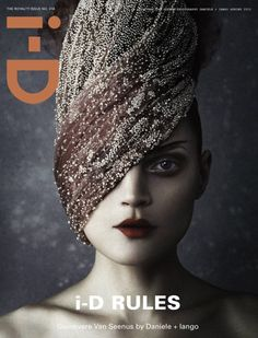 Guinnevere Van Seenus for I-D magazine Cover, issue 318/2012 | Magazine Cover: Graphic Design, Typography, Photography |