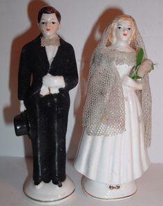 218 Best Weddings Vintage Cake Toppers Images Vintage