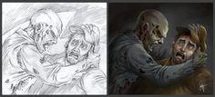 Zombie III by katcanales.deviantart.com on @DeviantArt