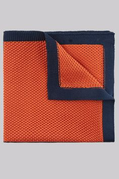Moss London Orange Knitted Pocket Square The perfect balance of quirky style and traditional sophistication. Stand out from the crowd and add a splash of colour to your day-to-day or formalwear outfit with this Moss London pocket square. The http://www.MightGet.com/january-2017-12/moss-london-orange-knitted-pocket-square.asp