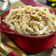 Oven-Baked Alfredo Penne & Cheese Recipe