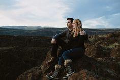 Mt Hood Engagement Photos // Jane+Kellen