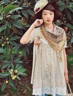 #morikei, #mori, #forestgirl,   http://zashiki.tumblr.com/