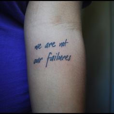 I want these words, but I want them on my ribs in a different font underneath the la dispute arrow.