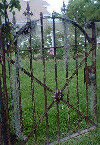 great cast-iron gate