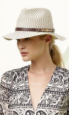 Braided straw hat