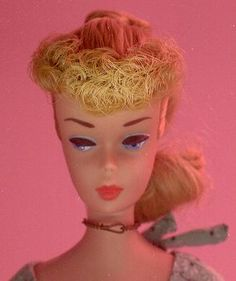beautiful, Light blue eyes and eyeliner!  Barbie #5