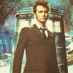 Doctor Who: David Tennant, the Tenth Doctor.