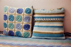 Diaper Mum : African Flower Cushion