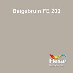 Flexa Expert kleur Beigebruin FE 203