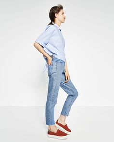 Image 3 of MOM JEANS from Zara