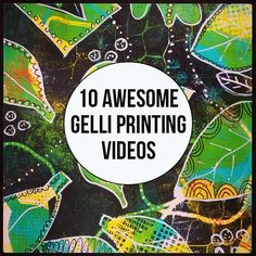 (15) Timeline Photos - Gelli Arts - Gel Printing Plate