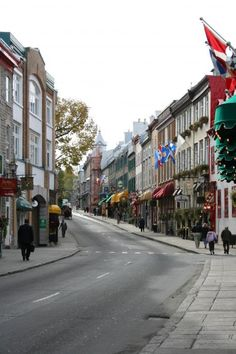Old Town Quebec - Canada -I would love to go back here with my Dad.