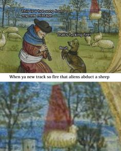 humor sheep abduction