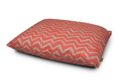 See our Outdoor Dog Bed in Chevron design and Red color at Lux Gifts and Goods.