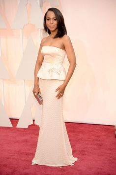 Kerry Washington in Miu Miu at the 2015 Oscars