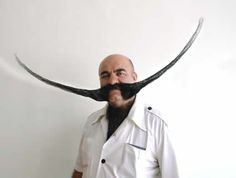 15 Most Bizarre Beards and Mustaches - Oddee.com (weirds beards and mustaches, strange beards and mustaches...)