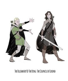 """""""He is Aragorn, son of Arathorn. You owe him your allegiance.""""<<< This perfectly describes what happened"""