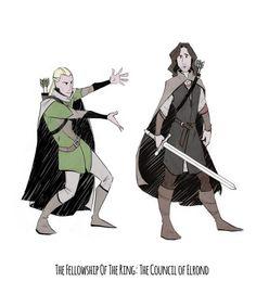 """He is Aragorn, son of Arathorn. You owe him your allegiance."""