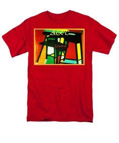 Art Studio T-Shirt by Joan-Violet Stretch